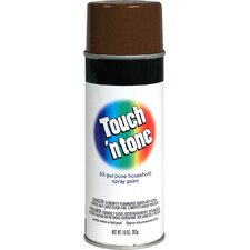 10 Oz Leather Brown Touch'N Tone® Spray Paint