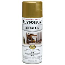 11 Oz Metallic Burnished Brass Spray Paint