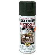 12 Oz Deep Forest Green Multicolor Textured Stops Rust® Spray Paint
