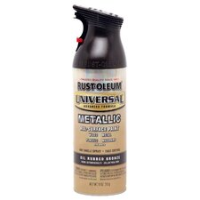 <strong>Rustoleum</strong> 12 Oz Oil Rubbed Bronze Metallic Universal All Surface Spray Paint