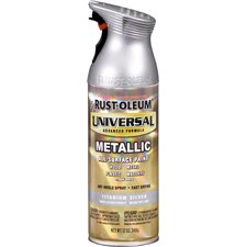 12 Oz Titanium Silver Universal® Spray Paint