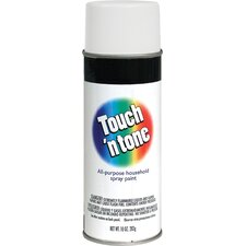 <strong>Rustoleum</strong> 10 Oz Flat White Touch 'n Tone® Spray Paint
