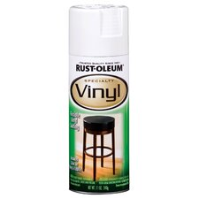 11 Oz White Vinyl Specialty Spray Paint