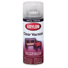 11 Oz Indoor Outdoor Varnish Spray Paint Satin