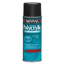 11.5 Oz Aerosol Polycrylic Protective Finish Semi Gloss