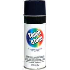 Flat Black Touch ´N Tone® Spray Paint