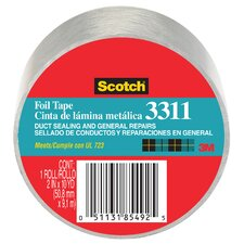 "<strong>3M</strong> 2"" x 50 Yards Scotch Aluminum Foil Tape"