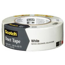 "<strong>3M</strong> 1.88"" x 60 Yards Scotch Duct Tape in White"
