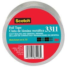 """2"""" x 10 Yards Scotch Aluminum Foil Tape"""