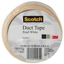 20 Yards Pearl White Duct Tape