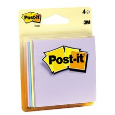 "3"" x 3"" 56 Sheet Pastels Post-It Note"