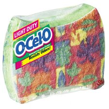 "5.9"" O-Cel-O Light Duty Sponge Scrubber"