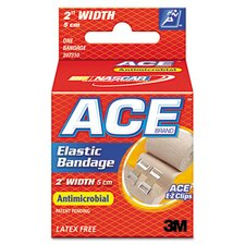 <strong>3M</strong> ACE Elastic Bandage with E-Z Clips