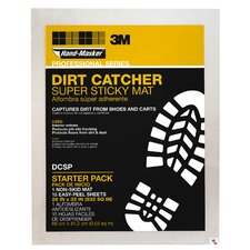 Dirt Catcher Super Sticky Mat Starter Kit