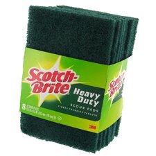 Scotch-Brite Heavy Duty Scour Pad (8 Count)