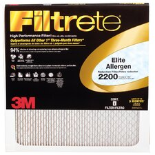 Elite Allergen Reduction Air Filter (Set of 6)