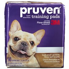 "21.5"" x 23.5"" Pruven Training Pad (Set of 50)"