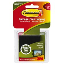 <strong>3M</strong> Command Picture Hanging Strip (Set of 6)