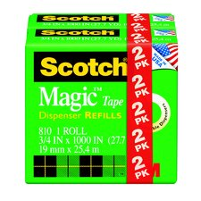 <strong>3M</strong> Transparent Scotch Magic Tape (Set of 2)