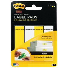 "0.62"" x 2.25"" Label Pad"