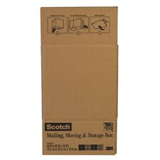 "10"" x 10"" x 10"" Scotch Folded Box"