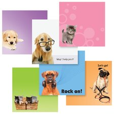 "3.9"" x 3.8"" Pet Designs Post-It Note"