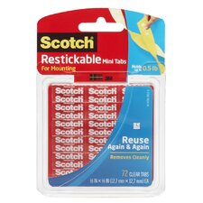 "0.50"" Scotch Restickable Tab"