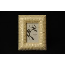 Capiz Ribbon Picture Frame