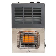 Vent Free 6,000 BTU Infrared Dual Fuel T-Stat Space Heater