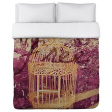 Oliver Gal Free Birdcage Duvet Cover Collection