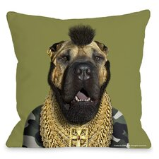 <strong>OneBellaCasa.com</strong> Pets Rock Fool Pillow