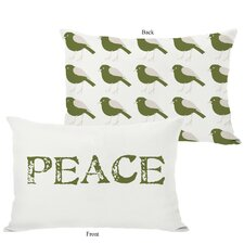 Holiday Peace Reversible Pillow