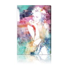 ''My Norma'' Graphic Art on Canvas