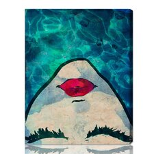 ''Watercoveted'' Graphic Art on Canvas