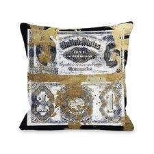 Silver Dollar Pillow