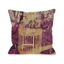 Free Birdcage Pillow