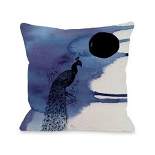 Indian Peafowl Pillow