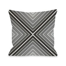 Marks The Spot Geometric  Pillow