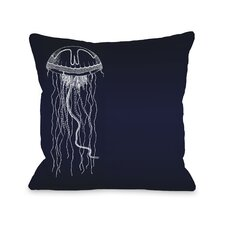 Travelling Jellyfish B Pillow
