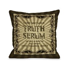 Truth Serum Pillow