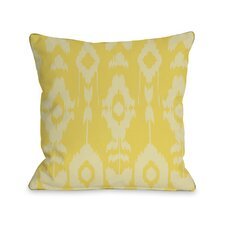 Forever Ikat Throw Pillow