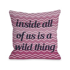 A Wild Thing Chevron Pillow
