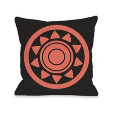 Maya Aztec Circle Pillow
