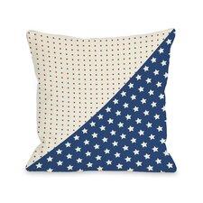 Polka Dots & Stars Pillow