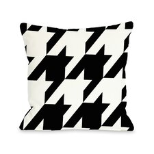 Molly Oversized Houndstooth Pillow