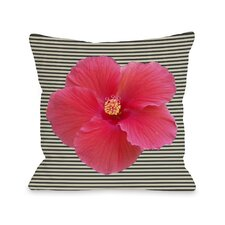 Melanie Flower Stripe Pillow
