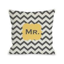 Mr Chevron Pillow