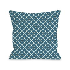 Linked Diamonds Pillow