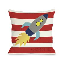 Rocketship Pillow