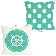 Polka Dot Back Wheel Pillow